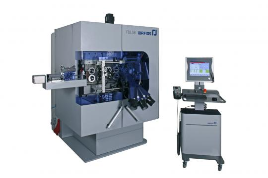 Compression spring machines